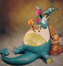 WDCC Disney ClassicsThe Reluctant Dragon Reluctant Dragon The More The Merrier