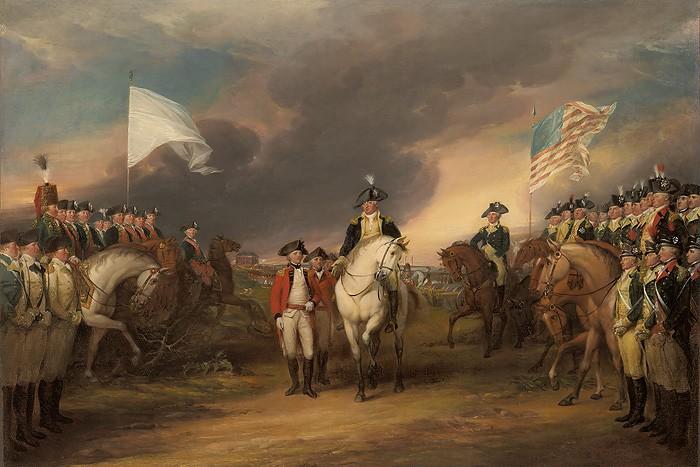 John TrumbullThe Surrender of Lord Cornwallis at YorktownGiclee On Canvas