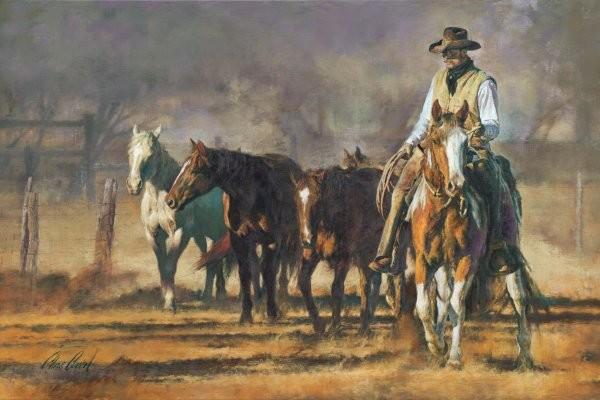 Chris  OwenA Good String By Chris Owen Giclee On Canvas  Artist Proof