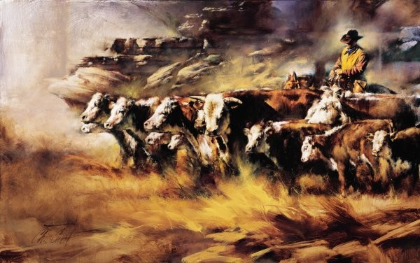 Chris  OwenAlmost Home By Chris Owen Giclee On Canvas  Artist Proof