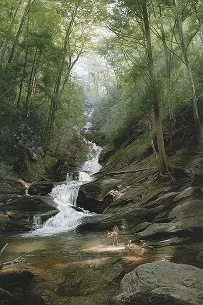 Phillip_Philbeck Altar Of The Forest By Phillip Philbeck Giclee On Canvas  Signed & Numbered