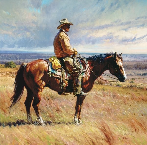 Martin Grelle An American Icon By Martin Grelle Giclee On Canvas  Signed & Numbered