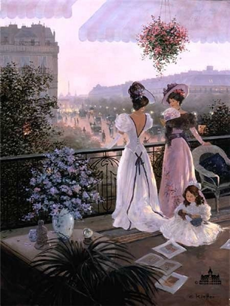 Christa Kieffer Between Friends By Christa Kieffer Canvas  Signed & Numbered