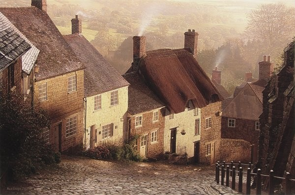 Rod Chase Blackmore Vale By Rod Chase Giclee On Canvas  Grande Edition