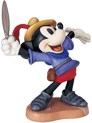 WDCC Disney Classics Brave Little Taylor Mickey Mouse I Let 'em Have It