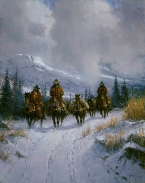 G HarveyBundled Blessed & Headin West By G. Harvey Giclee On Canvas  Artist Proof