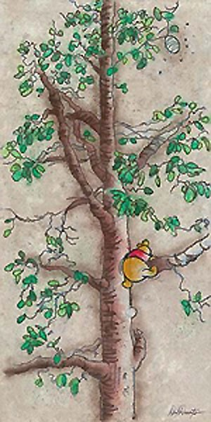 Dick Duerrstein Hunny Tree - From Disney Winnie the Pooh Giclee On Canvas