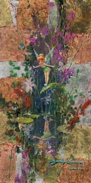 James ColemanA Fairy's ReflectionGiclee On Canvas