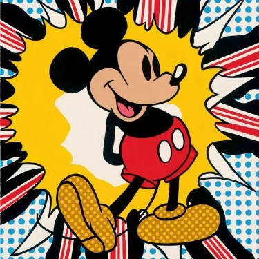 Carlton and Reis Pop Goes The Mouse Giclee On Canvas