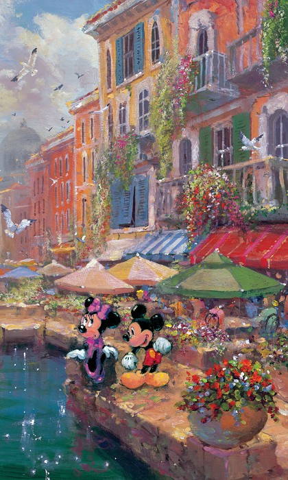 James ColemanRomance On The RivieraHand-Embellished Giclee on Canvas