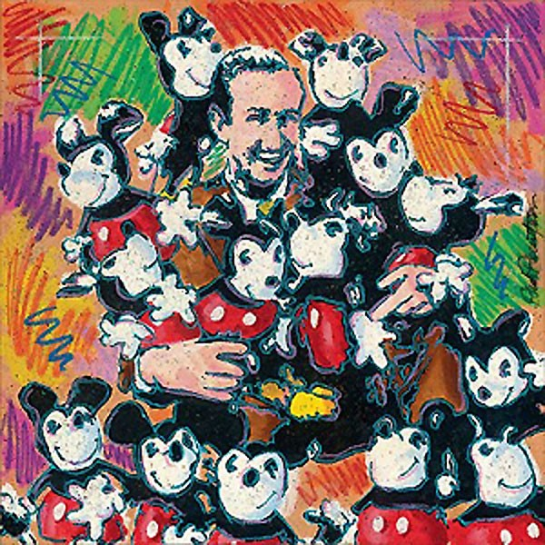 Dick Duerrstein Walt And Friends Giclee On Canvas