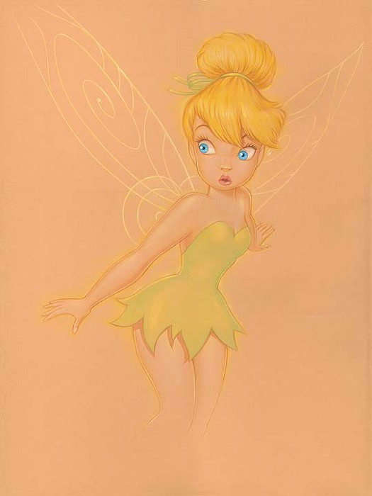 Manuel Hernandez Who Me - From Disney Peter Pan Hand-Embellished Giclee on Canvas