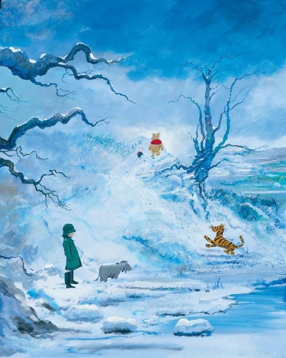 Peter / Harrison EllenshawWinter - From Disney Winnie the PoohGiclee On Canvas