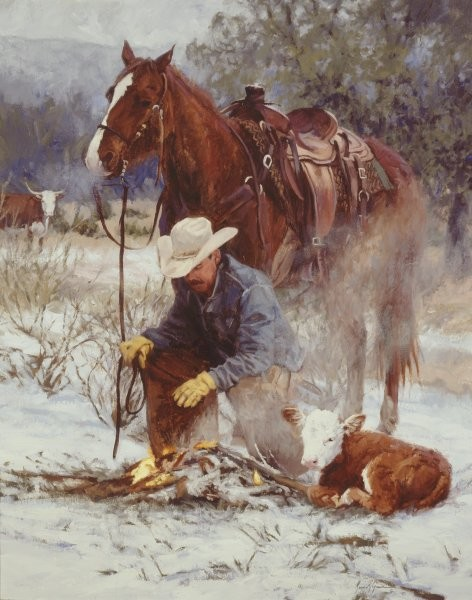 Bruce GreeneEarly Arrival By Bruce Greene Giclee On Canvas  Signed & Numbered