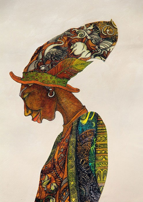 Charles Bibbs The Earth Keeper Giclee On Paper