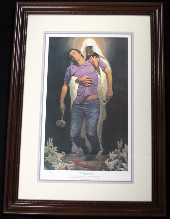 Thomas Blackshear II Forgiven Limited Edition Framed