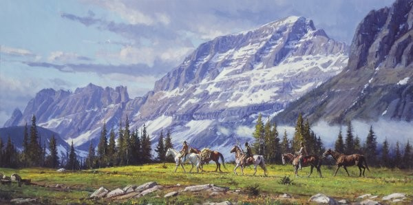 Martin Grelle High Passage By Martin Grelle Giclee On Canvas  Signed & Numbered
