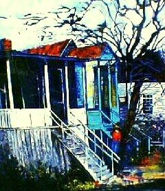 William Tolliver House On Pearl Street Estate Certified Serigraph
