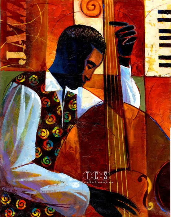 Keith Mallett Jazz Giclee