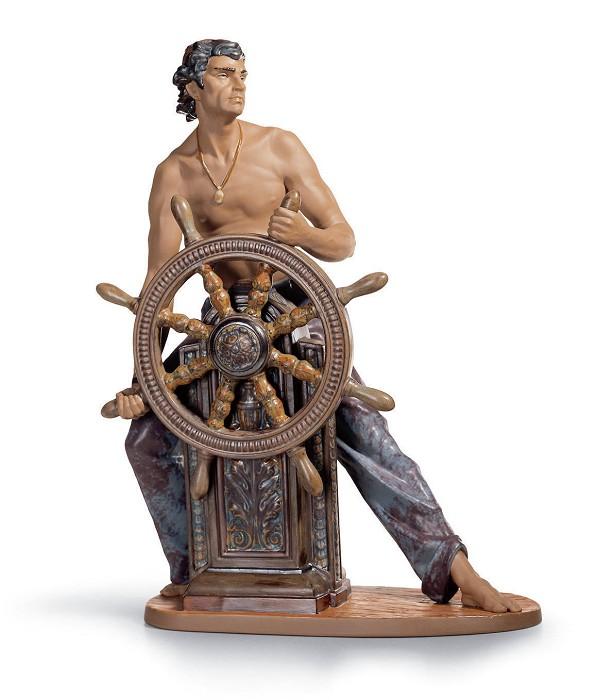 LladroStormy SeaPorcelain Figurine