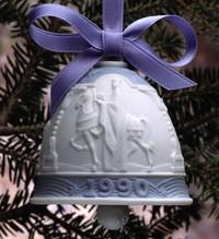 LladroChristmas Bell 1990