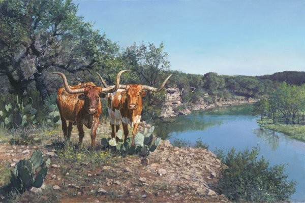 Ragan Gennusa Lone Star Legacy By Ragan Gennusa Giclee On Canvas  Signed & Numbered