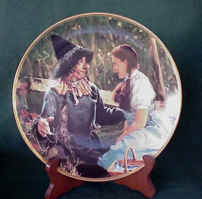 Thomas Blackshear1988 Wizard Of Oz Dorothy Meets The Scarecrow