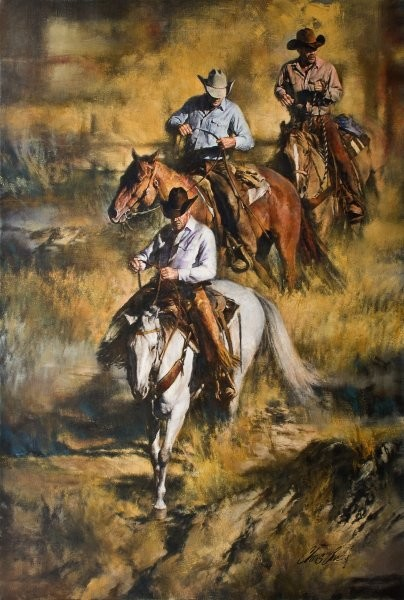 Chris  Owen Rough Country By Chris Owen Giclee On Canvas  Artist Proof