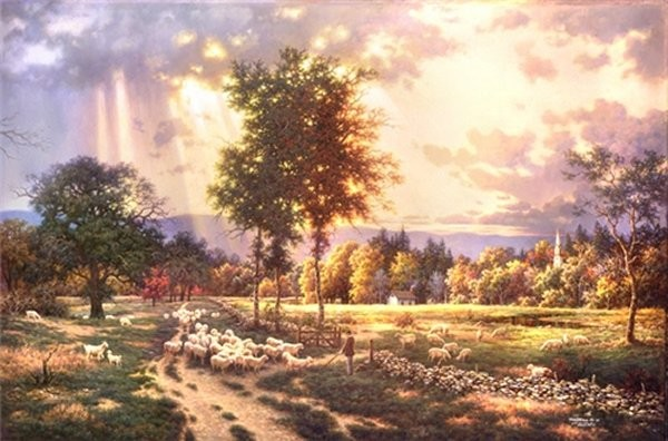 Larry DykeSafe Haven By Larry Dyke Giclee On Canvas Open Edition Signed