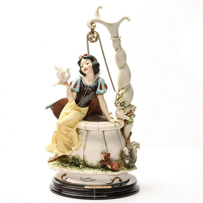 Giuseppe Armani Snow White Wishing Well Hand Signed