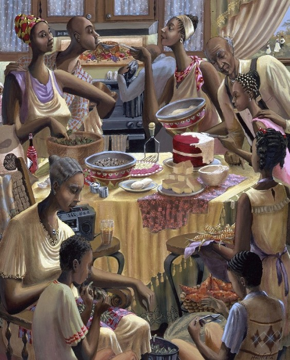John Holyfield Soul Food Remarque