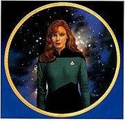 Thomas Blackshear Next Generation Crew - Dr. Crusher