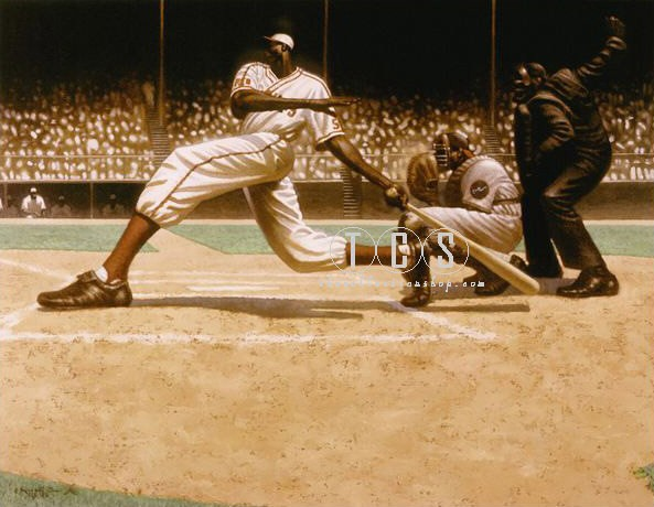 Kadir Nelson STEERACK!  (Strike) Canvas Transfer