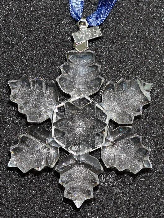 Swarovski Crystal1996 Snowflake Ornament