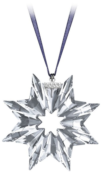 Swarovski Crystal 2003 Swarovski  Star Ornament
