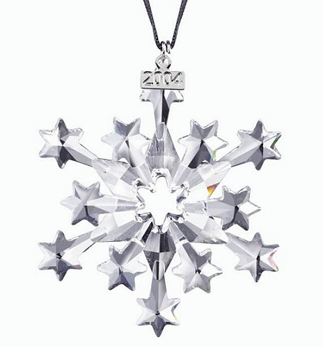 Swarovski 2004 Swarovski  Star Ornament