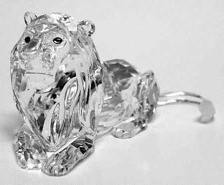 Swarovski CrystalSwarovski Lion Inspiration Africa 1995