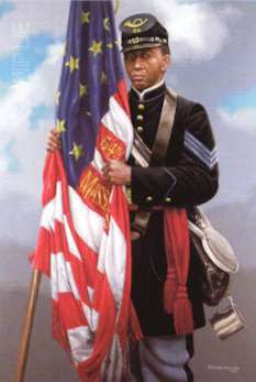 Michael GnatekSgt. Carney's Flag