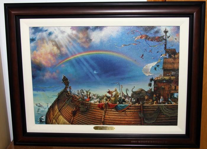 Tom DuboisThe Promise Framed Canvas