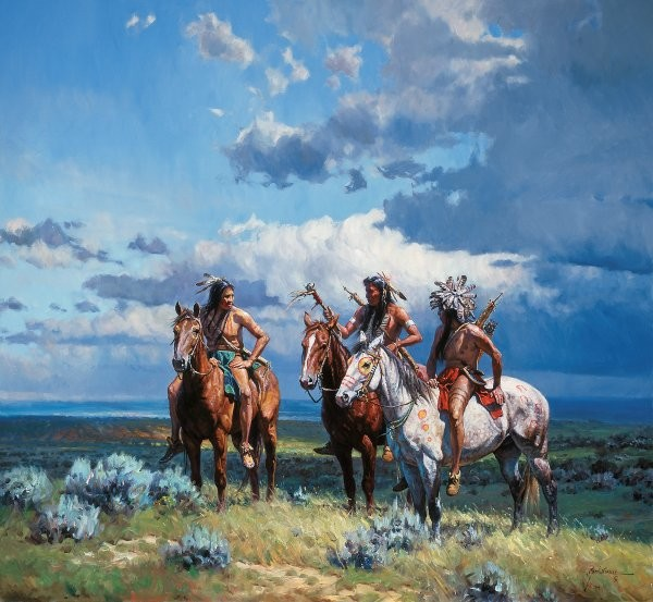 Martin Grelle The Buffalo Rattler By Martin Grelle Giclee On Canvas  Signed & Numbered