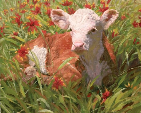 Bruce GreeneUnder The Indian Blanket By Bruce Greene Giclee On Canvas  Signed & Numbered