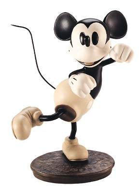 WDCC Disney Classics The Delivery Boy Mickey Mouse Hey Minnie, Wanna Go Steppin