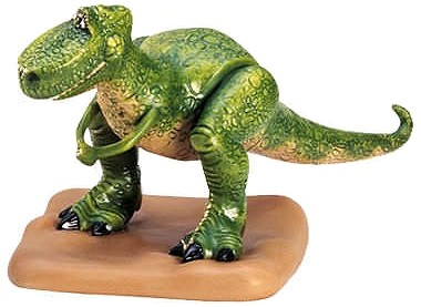 WDCC Disney Classics Toy Story Rex I'm So Glad You're Not A Dinosaur