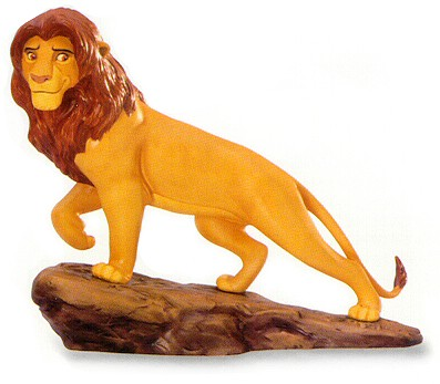 WDCC Disney Classics The Lion King Simba's Pride