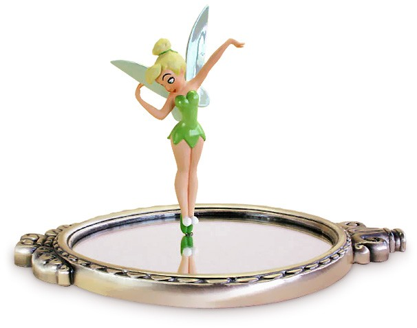 WDCC Disney ClassicsPeter Pan Tinker Bell With Mirror Pauses To Reflect (animator Choice)