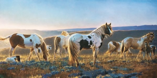 Nancy Glazier Welcome The Dawn By Nancy Glazier Giclee On Canvas  Signed & Numbered