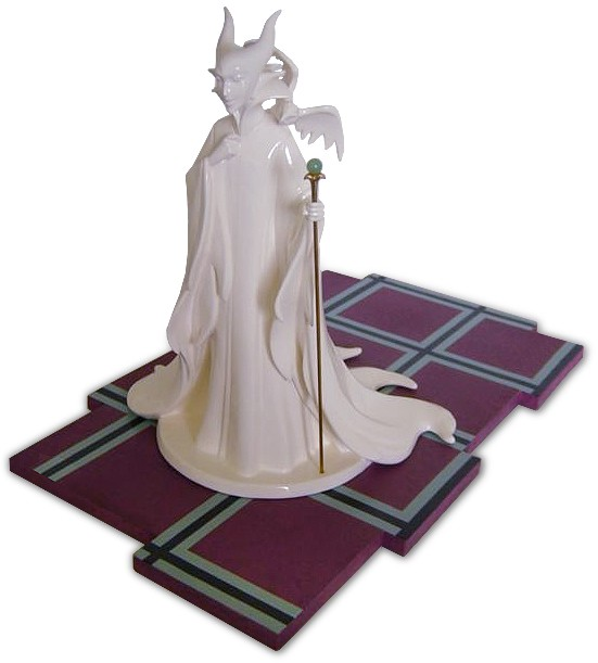 WDCC Disney Classics Sleeping Beauty Maleficent (whiteware) Evil Enchantress