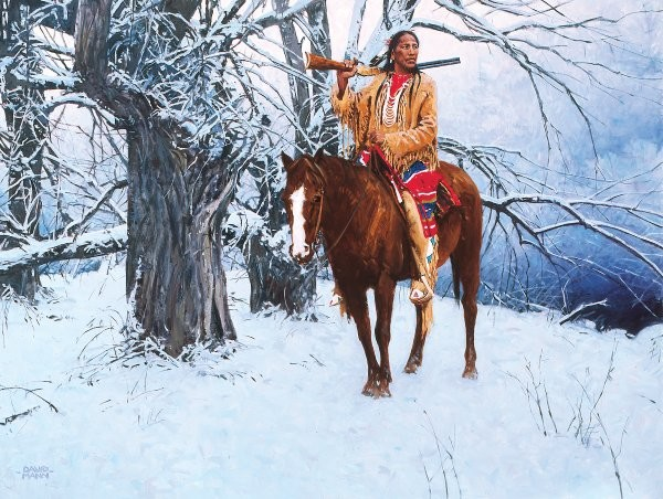 David Mann Winter Stillness By David Mann Giclee On Canvas  Signed & Numbered