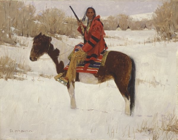 David Mann Winters Whisper By David Mann Giclee On Canvas  Signed & Numbered