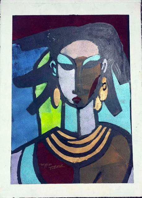 William Tolliver Sheba Artist Signed Lithograph